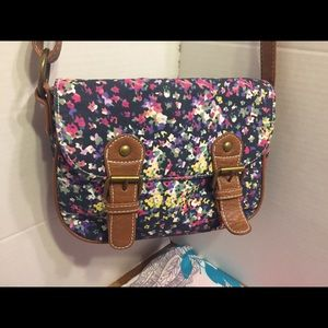 American Eagle AE's Floral design crossbody bag